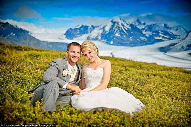 Η.W.N.: Γάμος με φόντο τα... παγόβουνα της Αλάσκα
