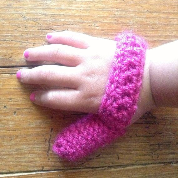 Pink Thumb Sucker Helper To Help Stopping Thumb Sucking on Etsy, $14.99