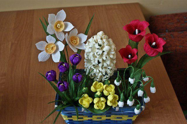 Re Kwiaty Z Krepiny Zdjecia Na Fotoforum Gazeta Pl Plants