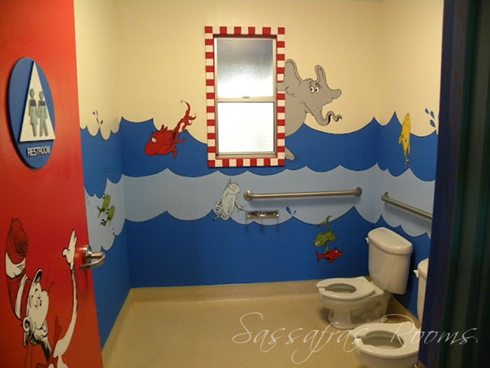 Image Detail For  Sassafras Rooms: DR SEUSSu0027 CAT IN THE HAT WALL MURAL