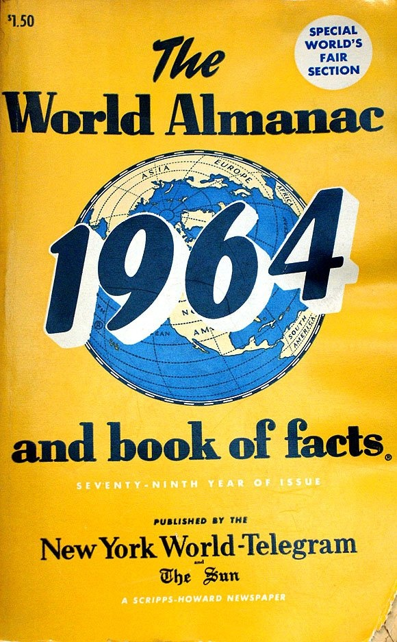 The World Almanac and Book of Facts 1964