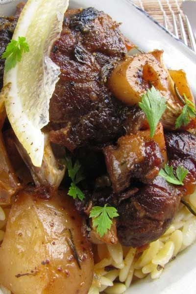 A beautifully slow-cooked Greek lamb recipe filled with flavour and perfect for a long, happy dinner!