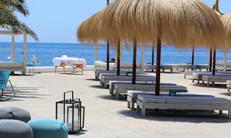 The IBEROSTAR Santa Eulalia Hotel is a 4-star hotel in front of the beach of Santa Eularía des Riu in Ibiza. Designed for adult guests and couples who want to enjoy a getaway in a luxury setting, in S'argamassa beach, is it an all-inclusive resort in Ibiza.#IBEROSTARSantaEularia #IBEROSTARHotels #Ibiza