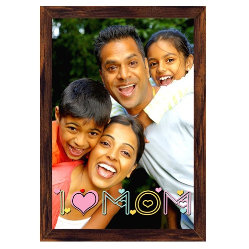 Rs.1,689.00 / $30.40 Shipping Charges 	Free Shipping To India(IND)	 Product Details 	 Present this Canvas Frame to your Mother. Digitally printed on canvas, framed with wall-nut fiber molding, lacquer coated for longer life. Please send us 1 quality photo. http://www.giftsomeone.com/photo-digital-canvas-with-frame-mom18-/product_info.php/products_id/4586  4 Working Days DIMENSIONS :34 cm x 49.5 cm