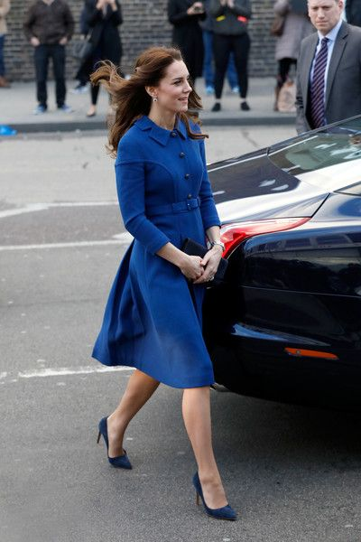 Kate Middleton - Catherine, Duchess of Cambridge visits a Child Bereavement UK Centre at CBUK Stratford on January 11, 2017 in London