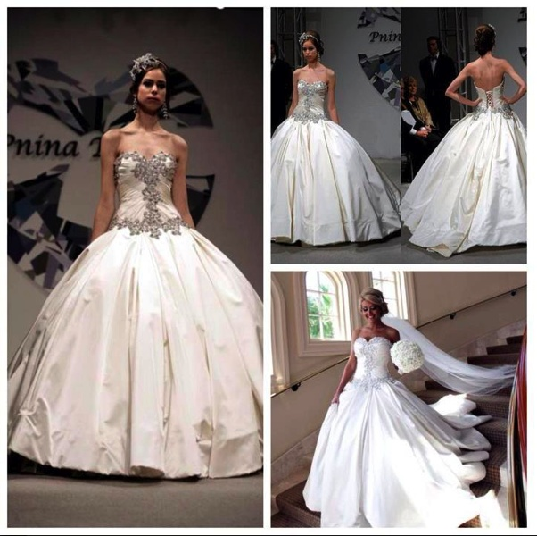 Say Yes To The Dress Pnina Tornai Ball Gown