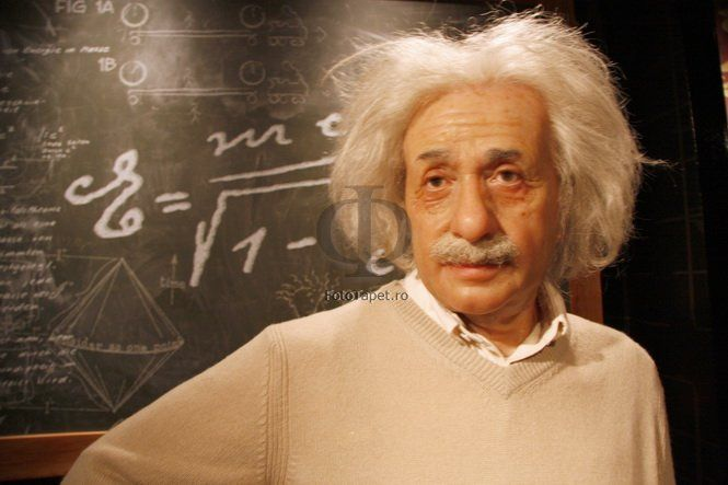 Albert Einstein was a German-born theoretical physicist and philosopher of science.  Wall, floor, ceiling- anything can be personalized with a special, latex alike, material that can help you personalize your home and make it memorable! Contact us: www.fototapet.ro