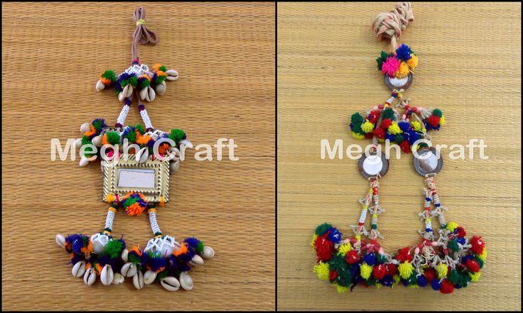 Indian Vintage Handmade Embroidered Waist Belt tassels  Tribal Kutch Waist Band  BY #CraftsOfGujarat #craftnfashion #meghcraft #indianethnicjewery