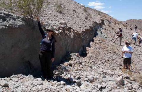earthquake fault line