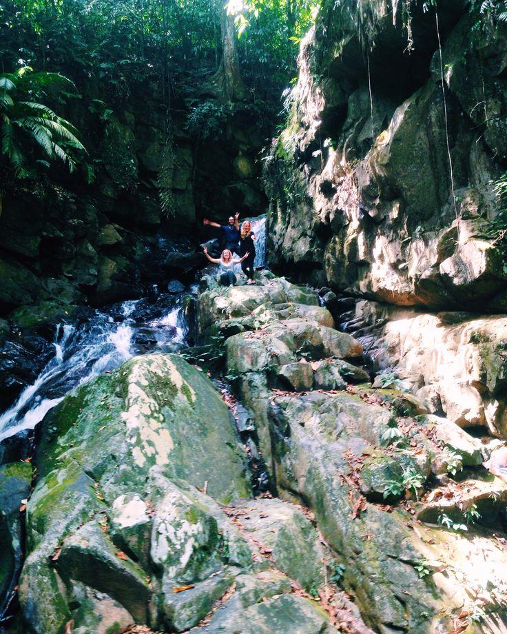 Waterfall, Kokol Hill, Kota Kinabalu, Sabah, Borneo, Malaysia