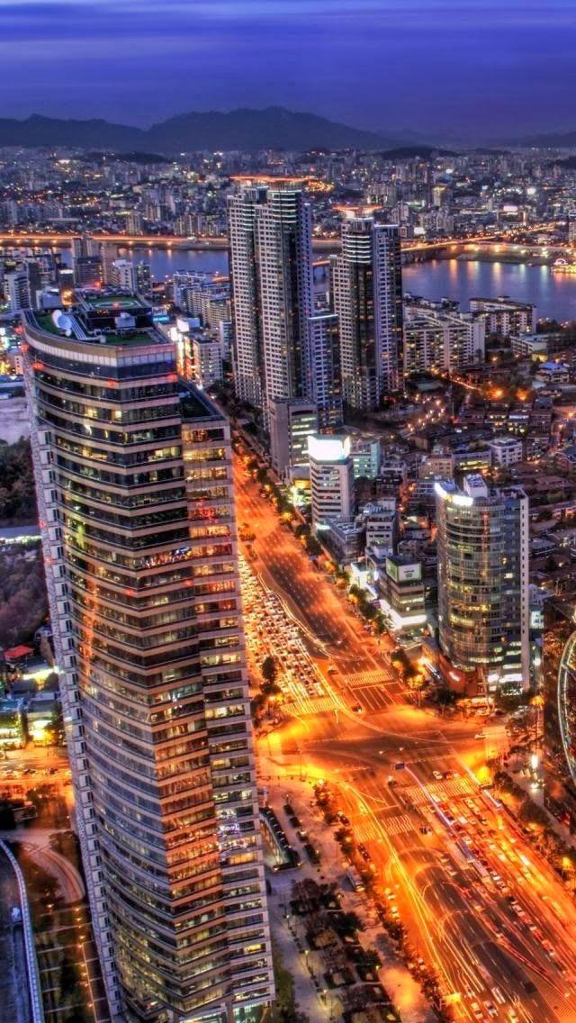 364 best South Korea images on Pinterest South korea, Seoul korea - best of world map at night korean