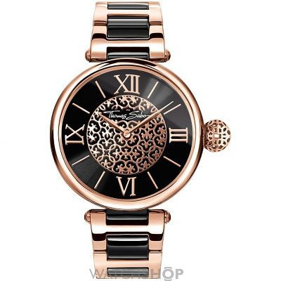 Ladies' Thomas Sabo Karma Watch (WA0280-268-203-38MM) - WATCH SHOP.com™
