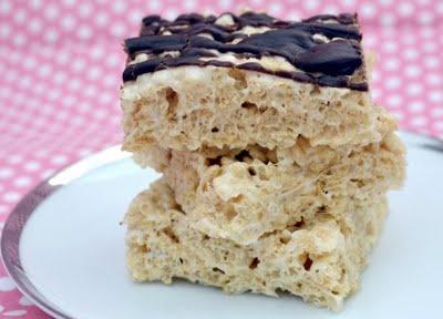 Salted brown butter rice krispie treats   Food I love   Pinterest
