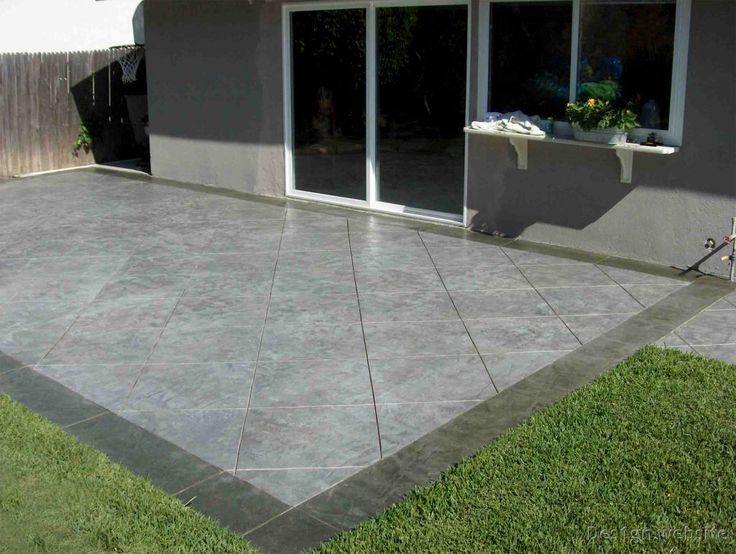 ... 25 Best Ideas About Concrete Patio Cost On Cost Of Concrete Driveway  Concrete ...