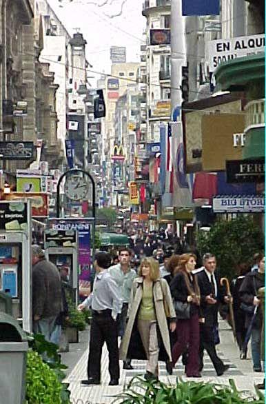 Florida Pedestrian shopping street Buenos Aires Agentina <3!