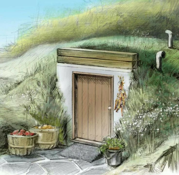 how to build a storm cellar