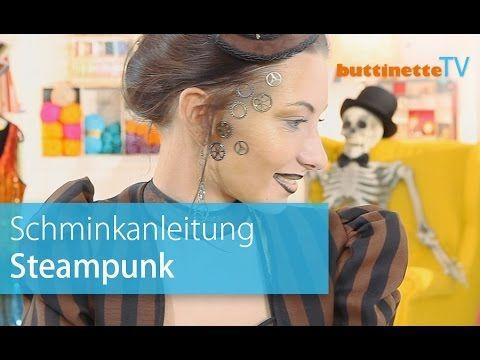 buttinette TV Steampunk schminken Tutorial
