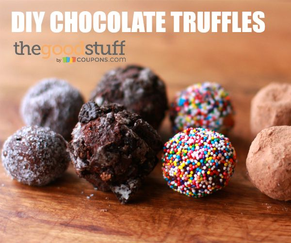 Make easy chocolate truffles for your sweetie. Watch the step-by-step video tutorial.