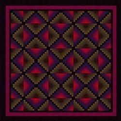 Free pattern download @ Jinny Beyer.com - Sedona. Beginner level