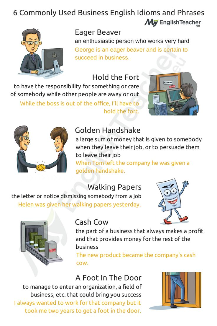 Looking For Mostmonly Used Business English Idioms And Phrases? Here  You Are: 15