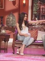 Deepika Padukone and Arjun Kapoor At CNWK For Finding Fanny Promotions   http://cinemaza.co.in/photos/deepika-padukone-arjun-kapoor-cnwk-finding-fanny-promotions