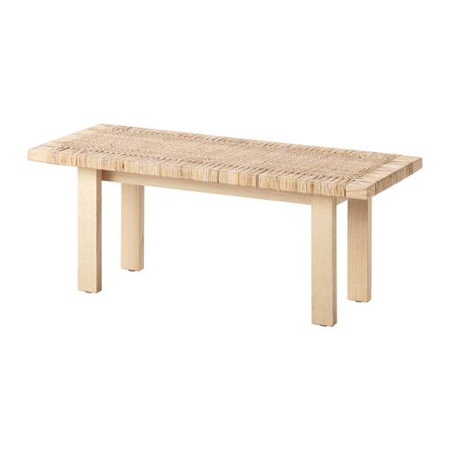 IKEA - STOCKHOLM 2017, Coffee table, Made from rattan and ash, natural materials that age with grace.