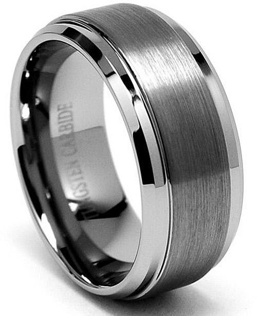 Tungsten wedding rings for men | http://WhereIBuyIt.com