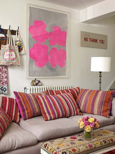 17 best DECORACIÓN SALAS images on Pinterest | Home ideas, Colorful ...