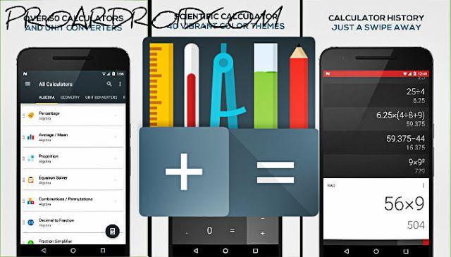 تحميل الآلة الحاسبة الكل في الواحد All In One Calculator Pro تحتوي على اكثر من 75 الة لحساب اي شيء تريده النسخة الكاملة للاندرو Bar Chart Calculator All In One