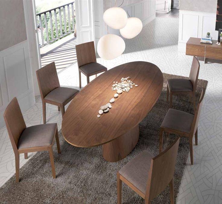 17 mejores ideas sobre mesas de comedor ovalada en - Mesas comedor originales ...