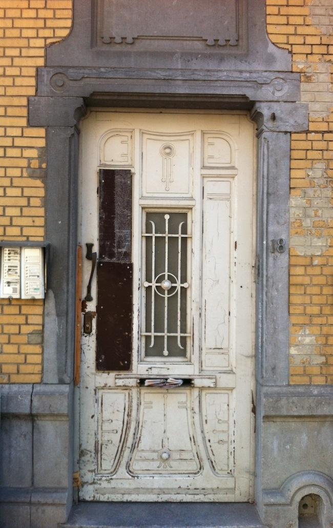 Faded Art Nouveau, Brussels