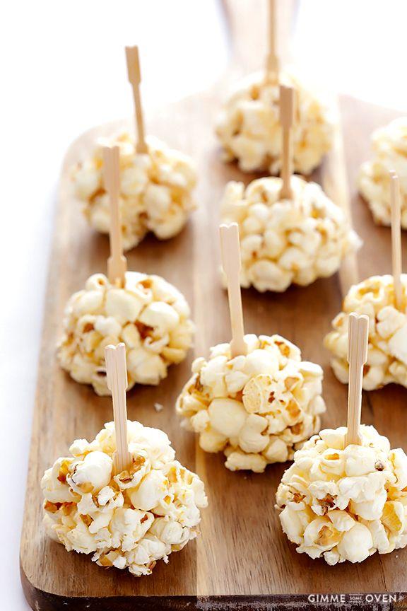Naturally-Sweetened Honey Popcorn Balls   gimmesomeoven.com