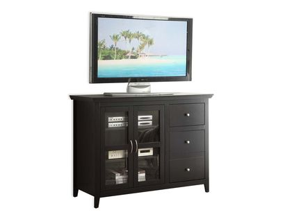 Convenience Concepts Sierra Highboy TV Stand TV Stand in Black
