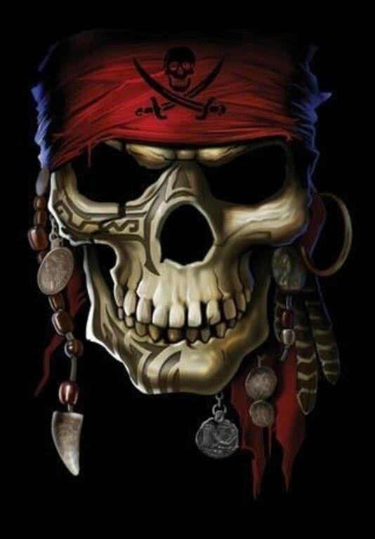 Pirate skull                                                                                                                                                      More