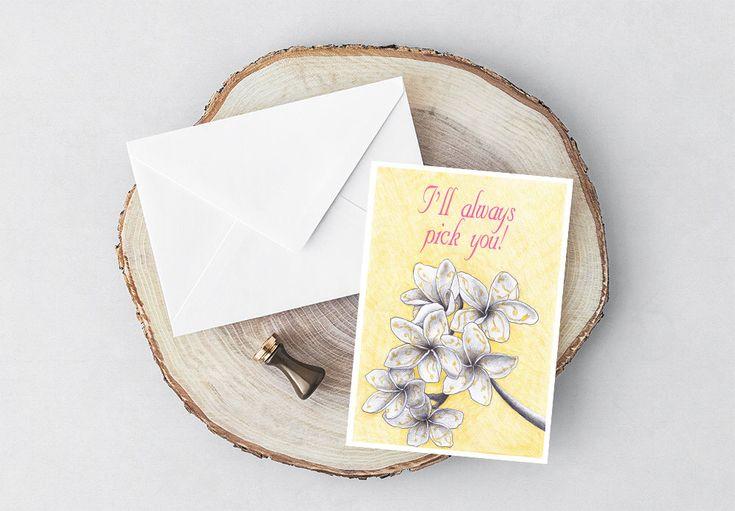Romantische Geschenkkarte, Karte für Freundin, Jubiläumsgeschenkkarte für Frau, druckbares Geschenk zum Valentinstag, zeitgenössische moderne Kunst, Liebeskarte   – Gift Ideas on Etsy