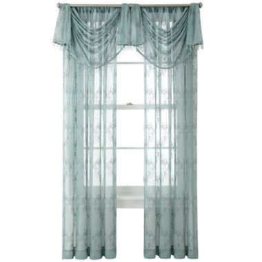 Liz Claiborne 174 Blakely Sheer Window Treatments Found At
