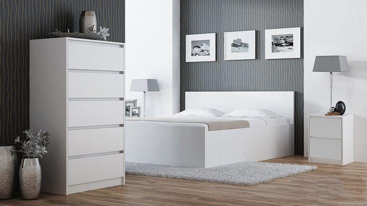 #Nachttisch mit zwei #Schubladen in vier verfügbaren Farben: weiß, wenge, trufel und sonoma. Prüfe das #Angebot selbst und finde die perfekte für dein #Zimmer #Nachttische. Andere #Möbel auf unserer eBay Seite verfügbar! :-) #kommode #regale #möbelverkauf #schlafzimmer #sleepingroom #bedroom #hochkommode #mitschubladen