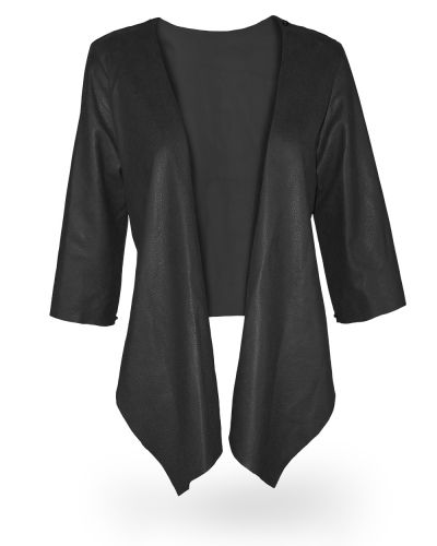 Black Leather #Jacket Waterfall $256