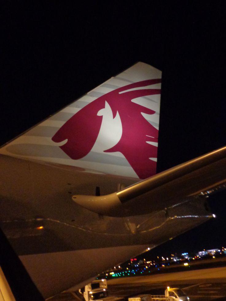 Doha-Bangkok by Qatar Airlines! Sweet.