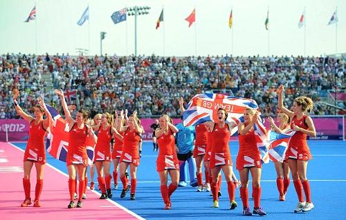 Team GB Medals 2012  55. Women's Hockey Squad - BRONZE  (Hockey: Women's Hockey)