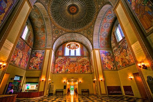 fortunaforme:  Oh, holy grail! LA Central Library- here I come! It looks beautiful in there!