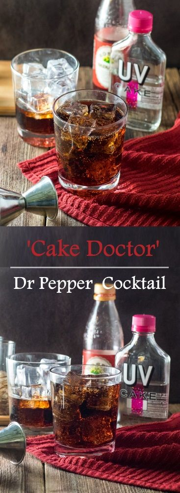 Cake Doctor - Dr Pepper Cocktail recipe