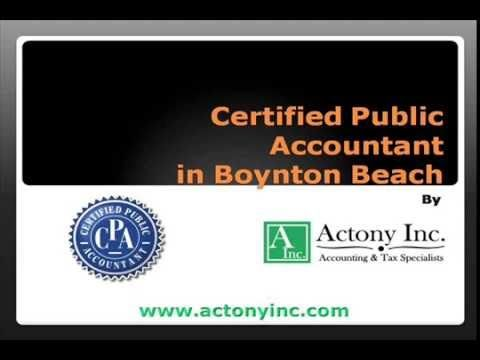 Looking for best Certified Public Accountant? Actony Inc deal with well class CPAs. Watch this video to get complete information.