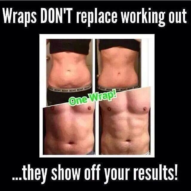 Truth! These wraps aren't even comparable to those DIY ...