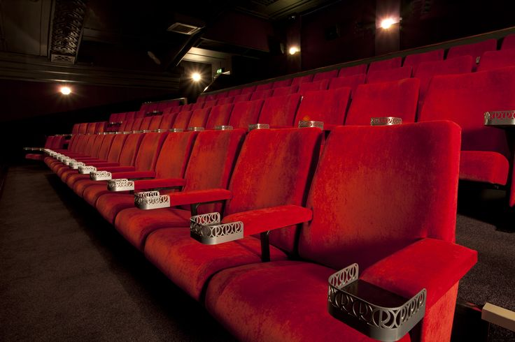 Our chairs in the Regal Cinema, Melton Mowbray