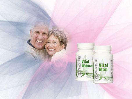 A Vital Man kifejezetten férfiak számára kifejlesztett komplex gyógynövénykészítmény. A stresszes hétköznapok és a szexuális teljesítmény változása nem jelenthet problémát! A Vital Woman egzotikus növényi hatóanyagaival kifejezetten a női szervezet egészséges életfolyamatait hivatott támogatni.