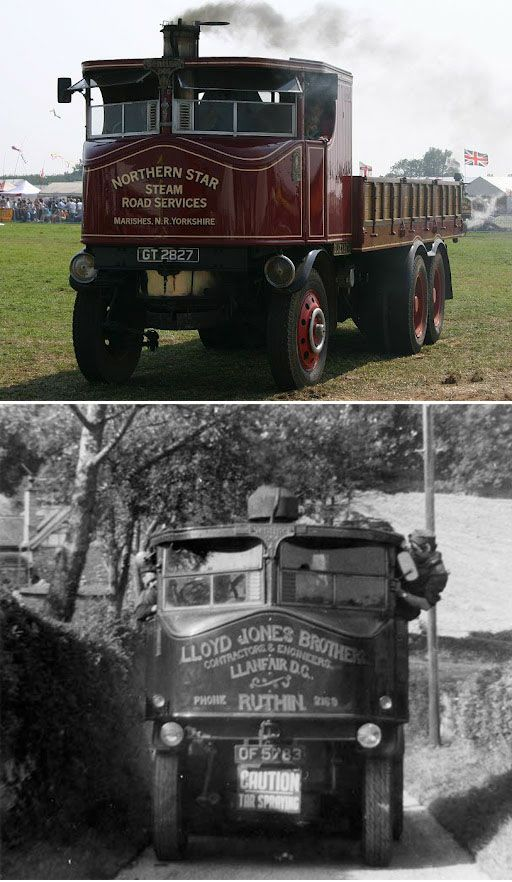 """steam truck """"Sentinel DG-6"""" When gasoline and diesel are gone...."""