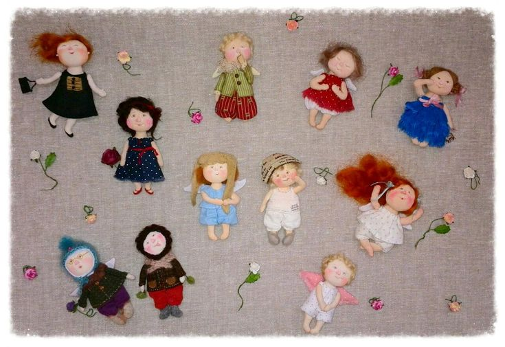 куклы алены павловой