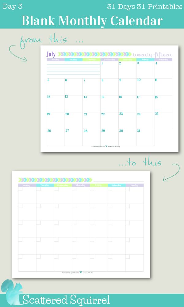 Best 25+ Blank monthly calendar ideas on Pinterest Free blank - bill calendar template
