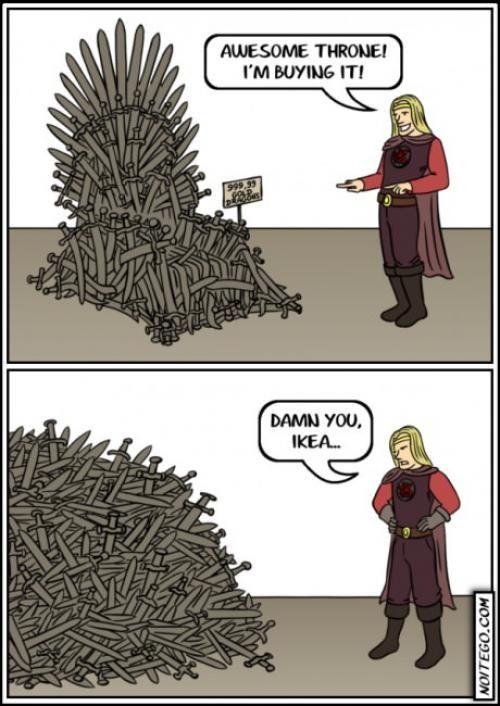 IKEA problems. -D